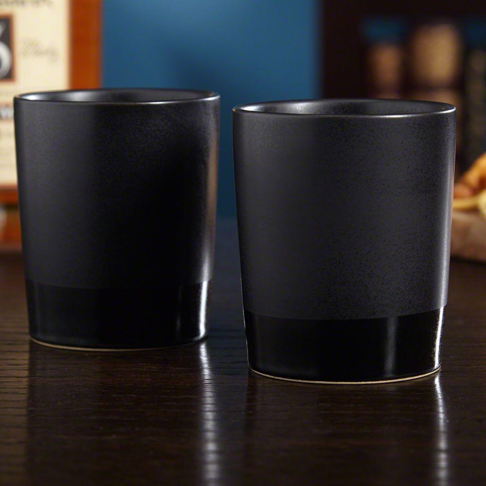 Haywood Ceramic Whiskey Tumbler Set of 2