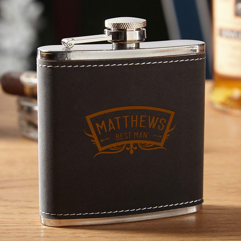 Hawthorne Wedding Party Liquor Flask