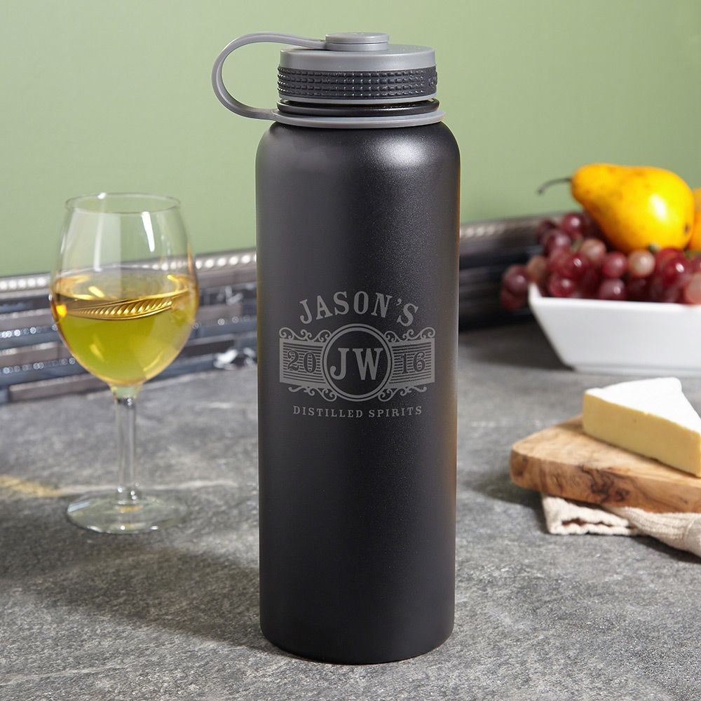 Marquee Compact Insulated Growler 40oz - Black