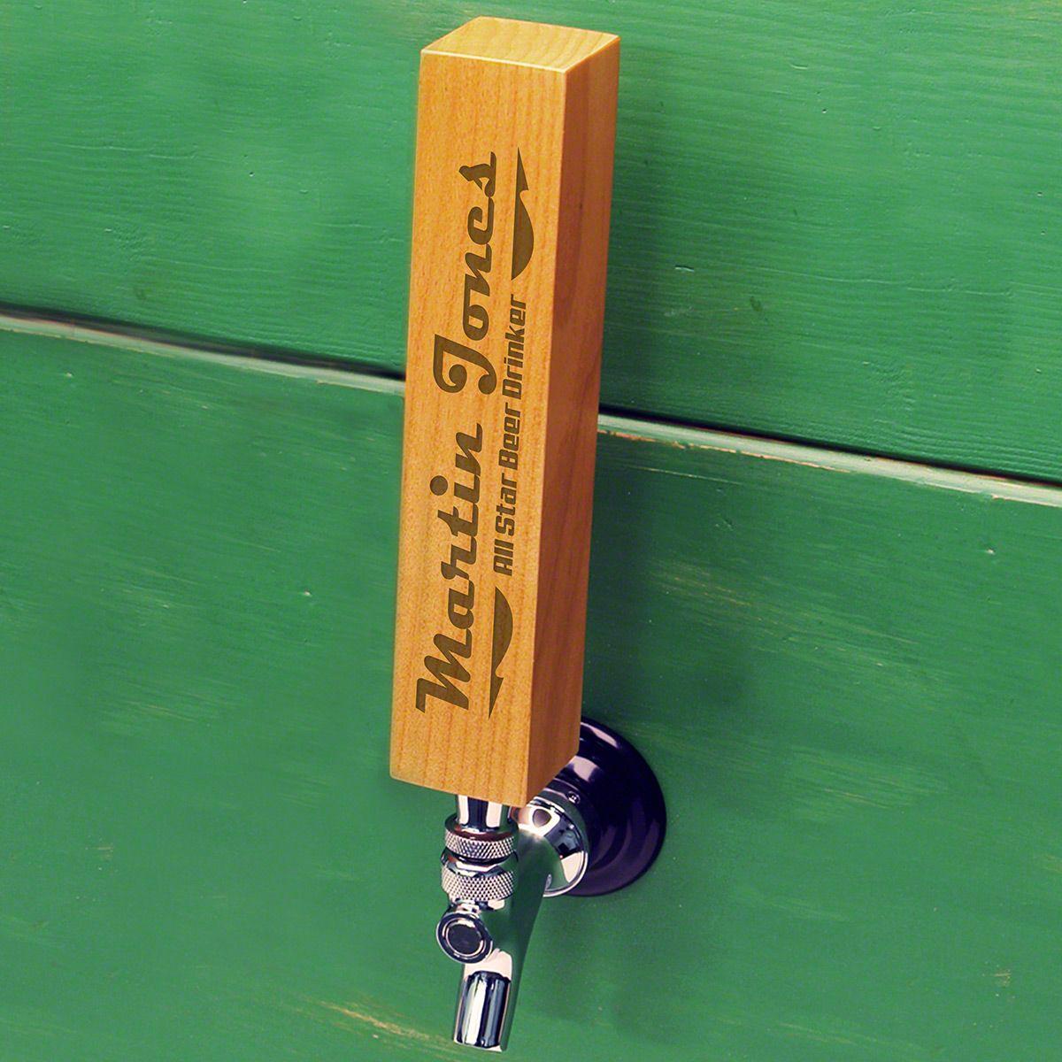 Streamline 1950s Style Custom Beer Tap Handle
