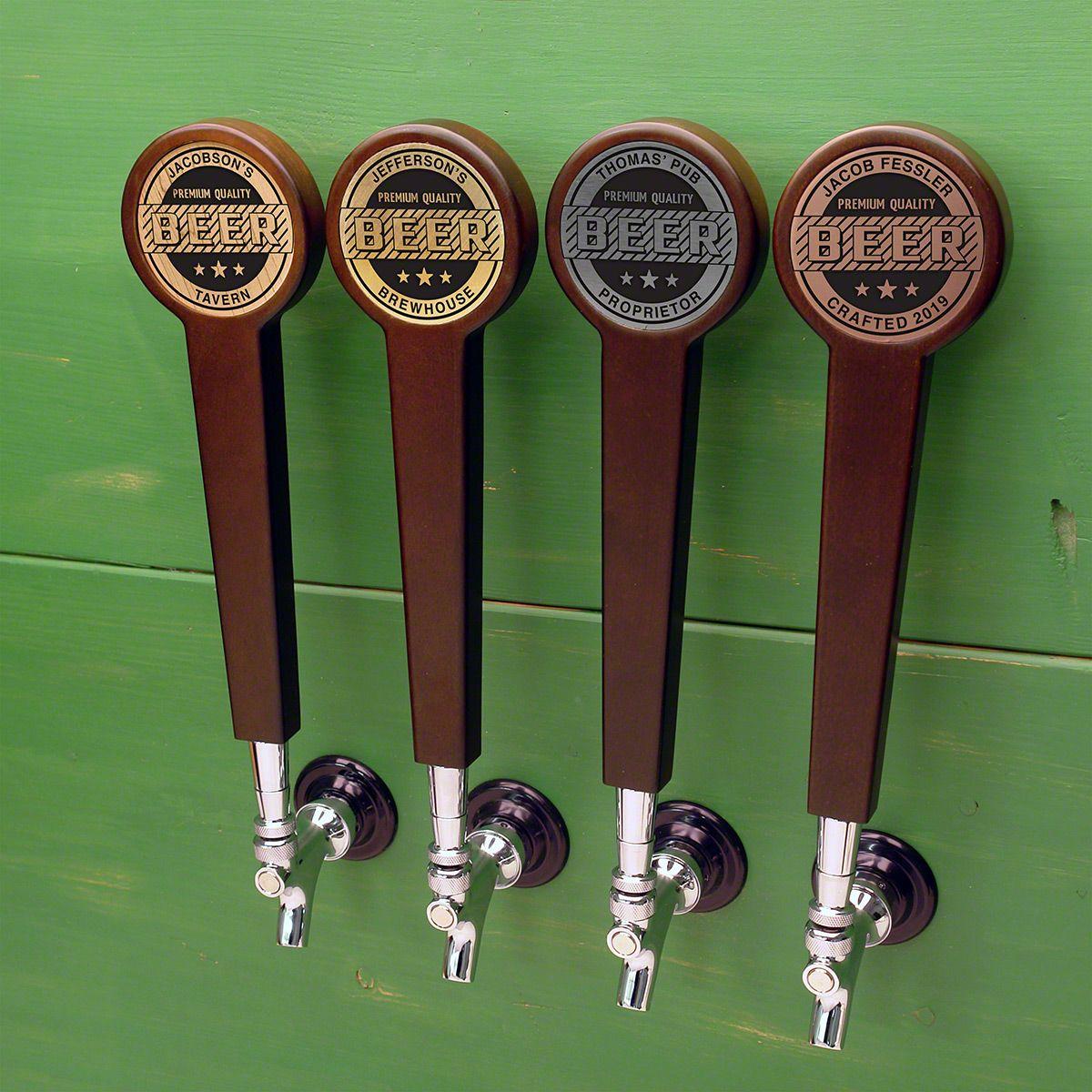 Premium Quality Custom Beer Tap Handle, 4 Color Options