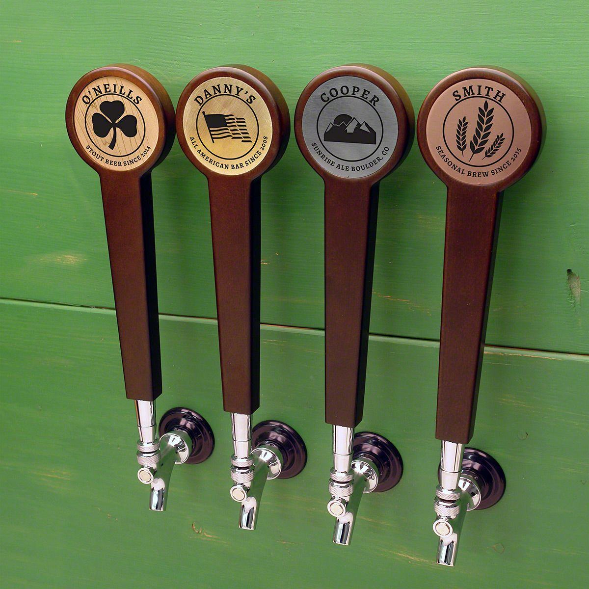 Masterson Personal Stamp Custom Tap Handle (4 Color Options)