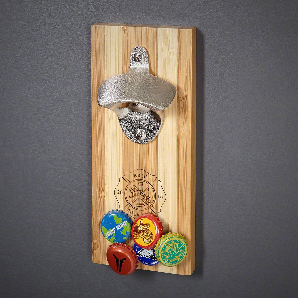 Firefighter Custom Magnetic Bottle Opener