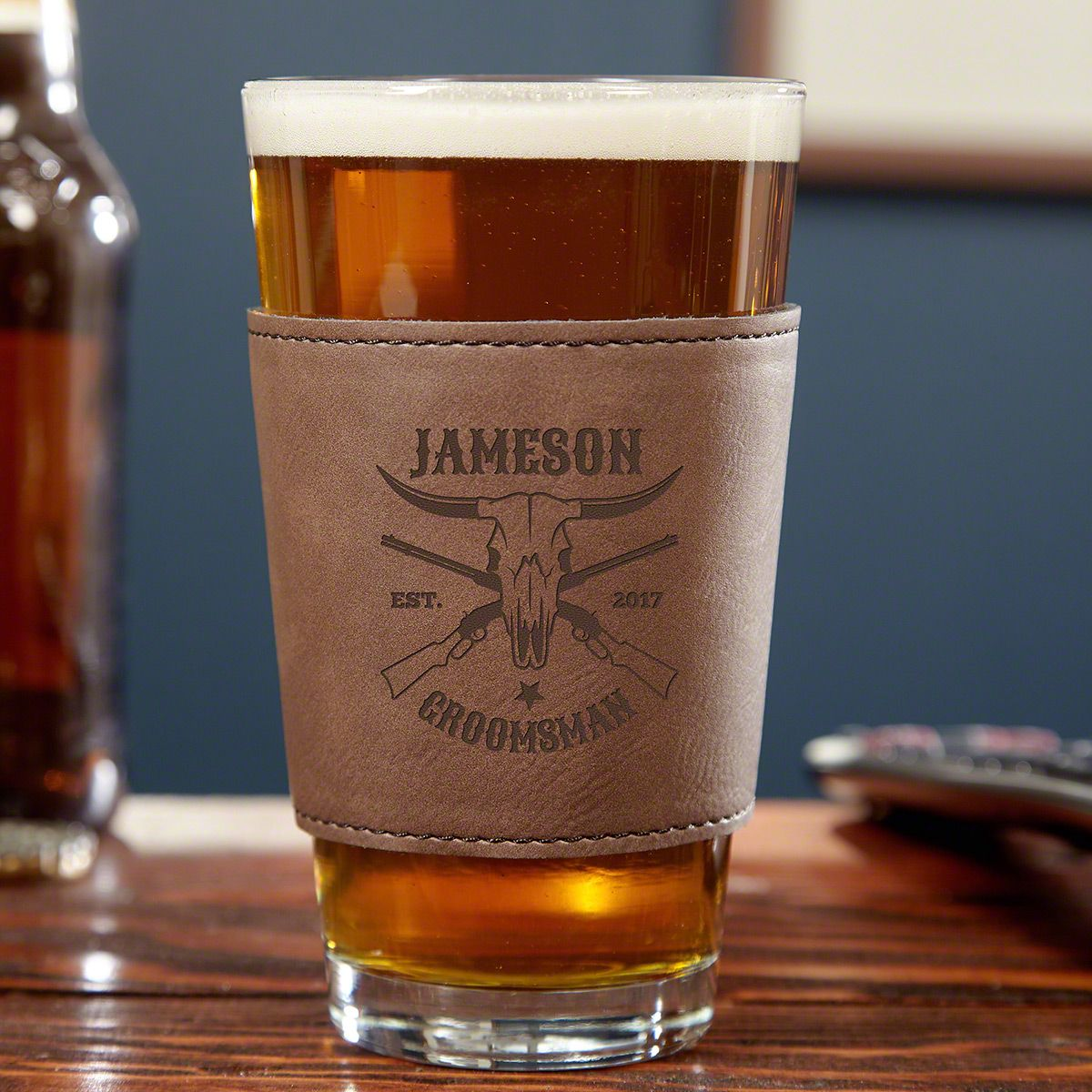 Midland Personalized ThermaSleeve Pint Glass