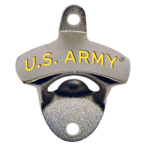 US Army Wall Mount Opener for Bottles