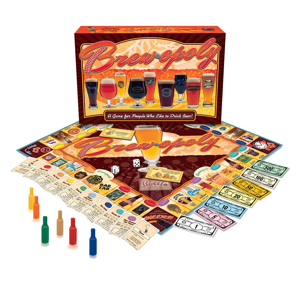 Brewopoly Board Game