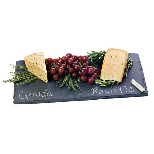 Svelte Slate Chalkboard Cheese Board