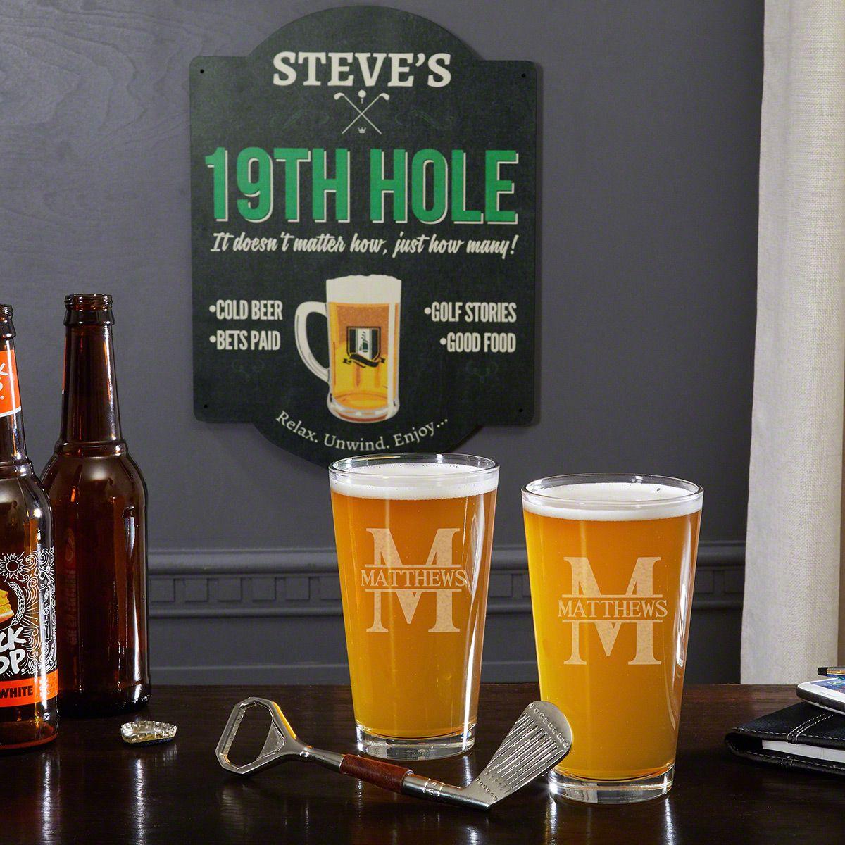 Oakmont Personalized Golf Lovers Gift Set