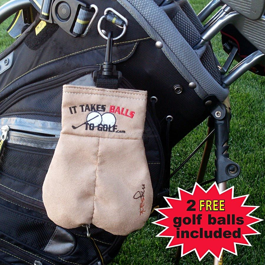 Mysack, It Takes Balls to Golf, Ball Holder