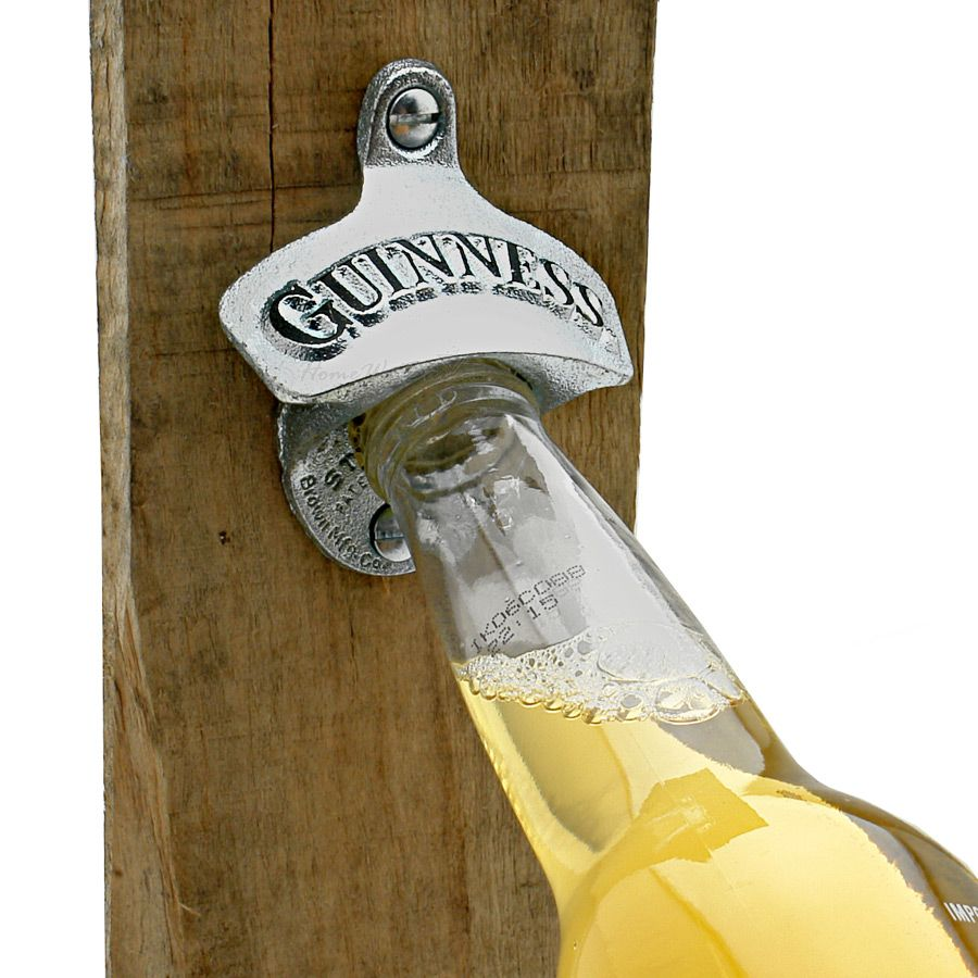 Guinness Cast Iron Wall Mounted Bottle Opener
