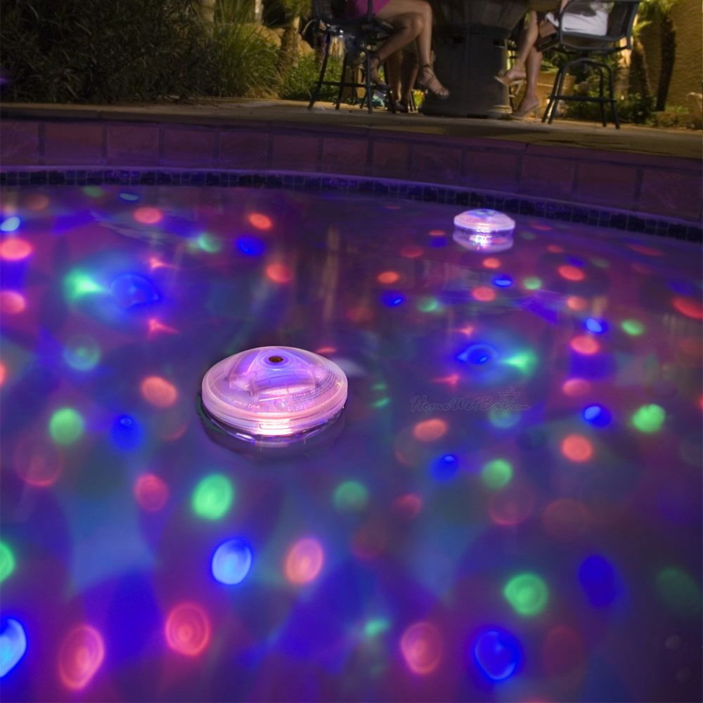Pool Party Underwater Light Show