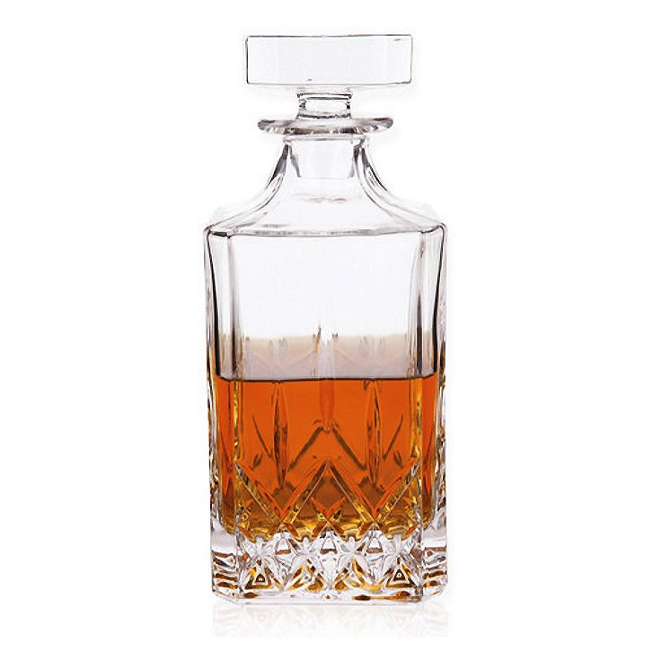 St. Lorenz Cut Glass Liquor Decanter