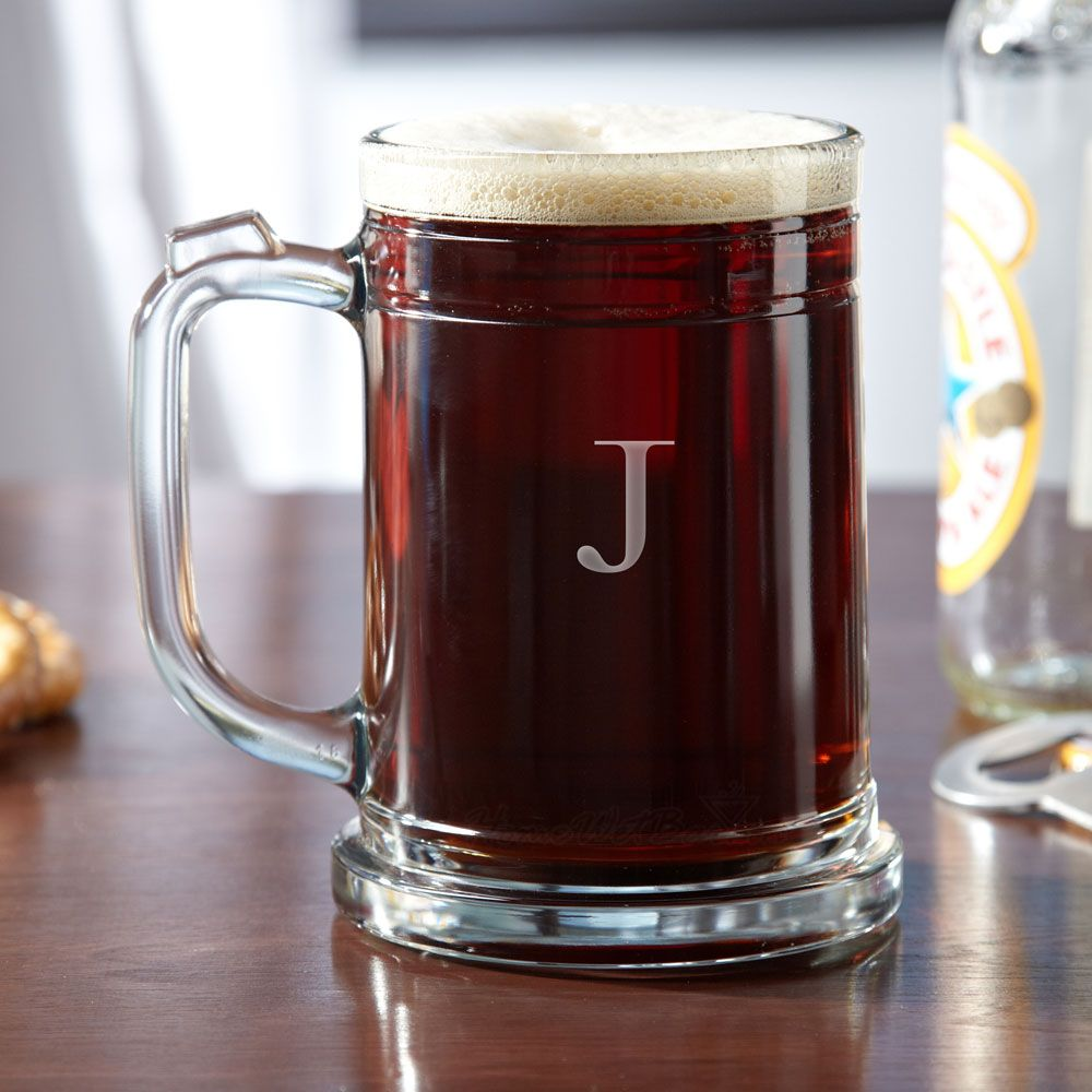 Brussels Personalized Beer Mug, 16 oz