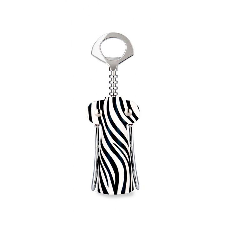 Zebra Couture Corkscrew