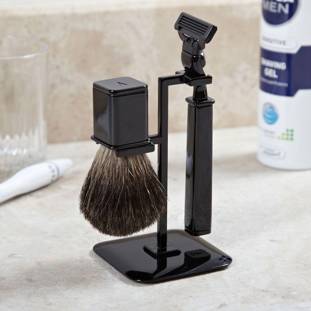 Refined Gent Shaving Set, Black