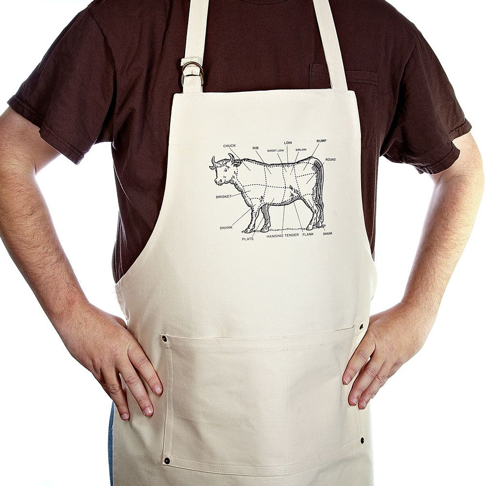 The Bullheaded Mans Kitchen Apron