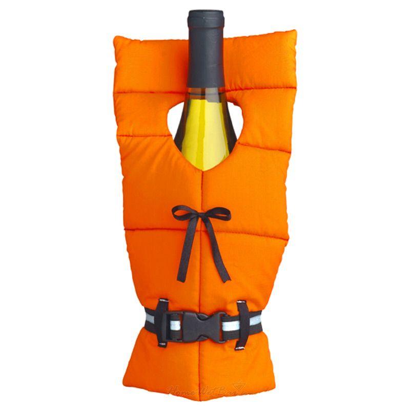 Life Jacket Wine Bottle Cover