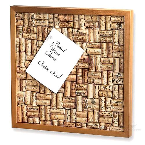 Wine Cork Bulletin Board Kit