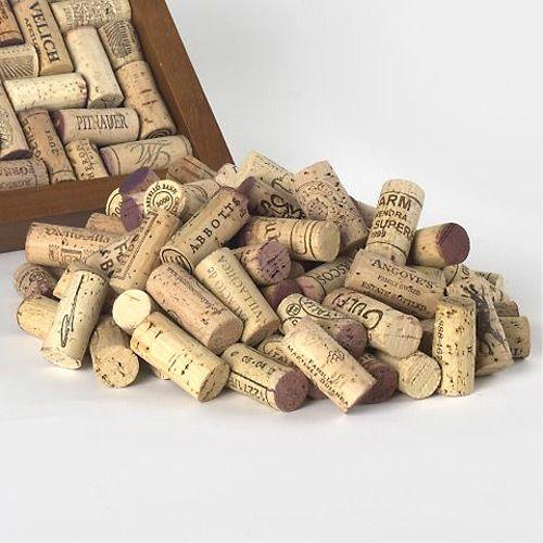 Premium Recycled Wine Corks, Set of 50