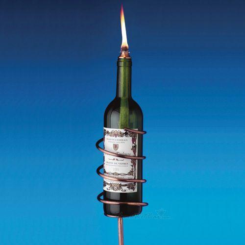 Copper Wine Bottle Torch Kit