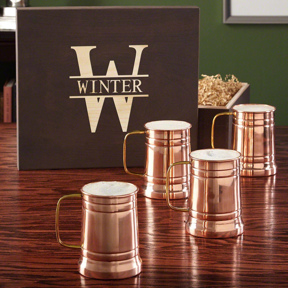 Oakmont Gift Box and Koln Beer Tankard Set