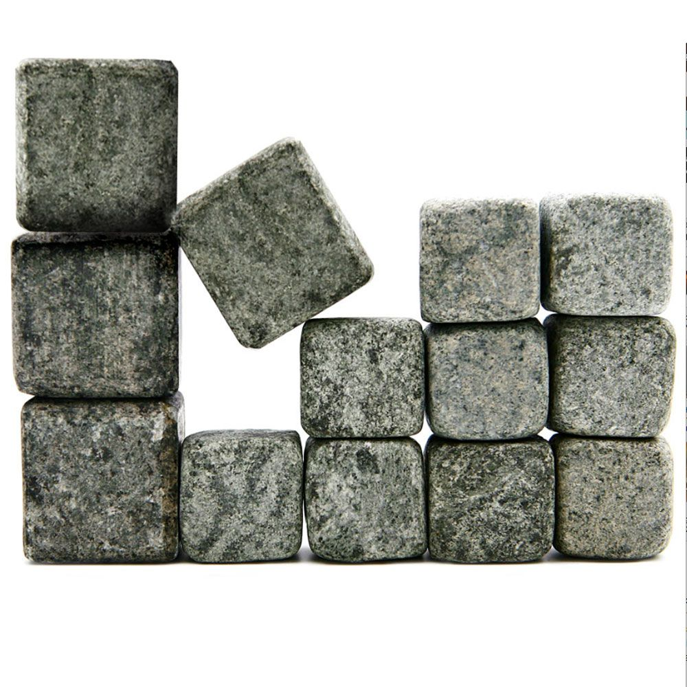 Scotch and Whiskey Stones, Connoisseurs Set of 13