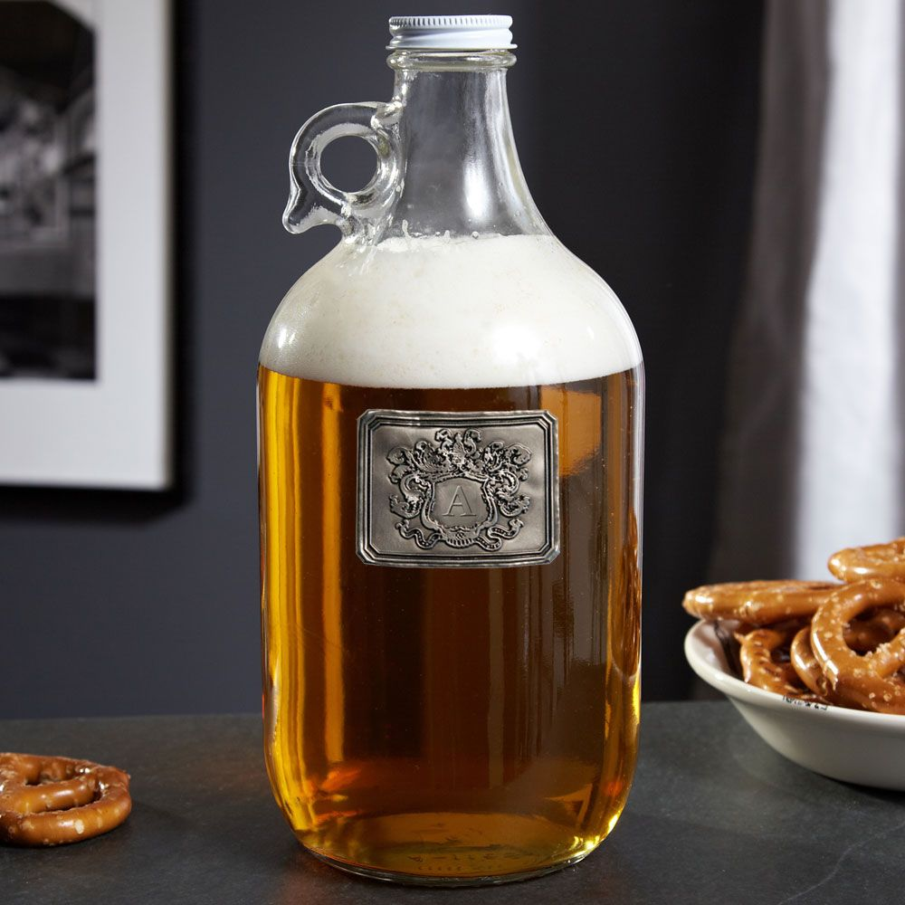 Royal Crested Personalized Beer Growler