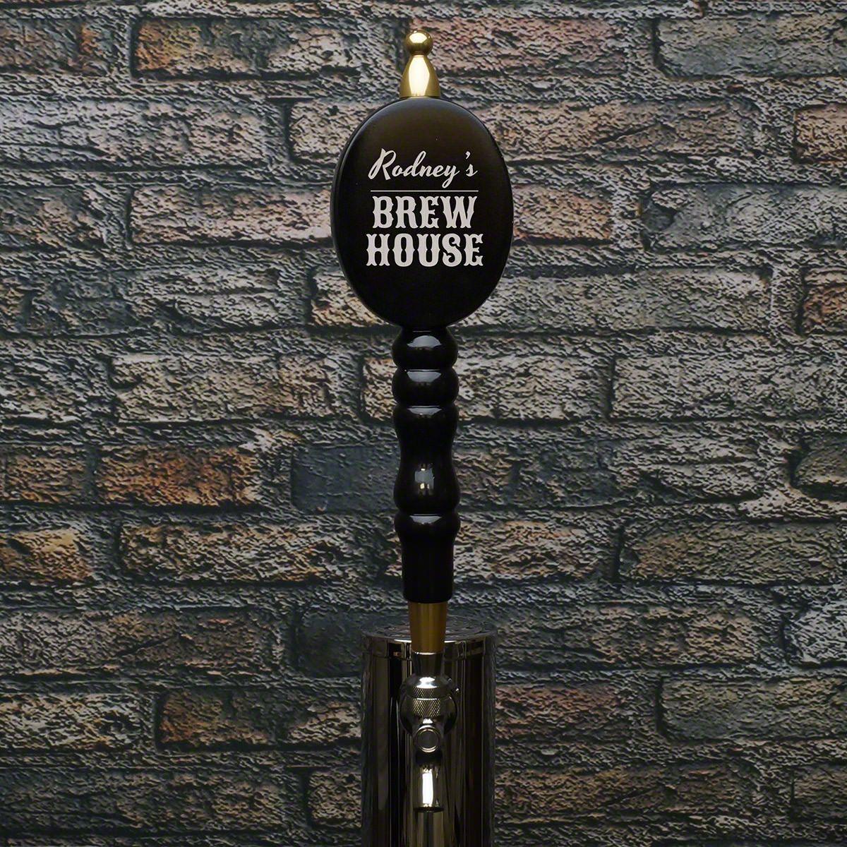 Personal Brew House Black Beer Tap Handle