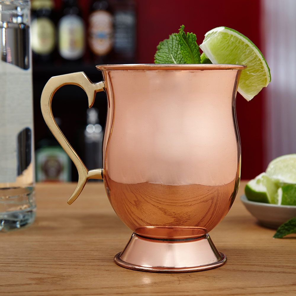Ivan Moscow Mule Copper Mug, 16 oz