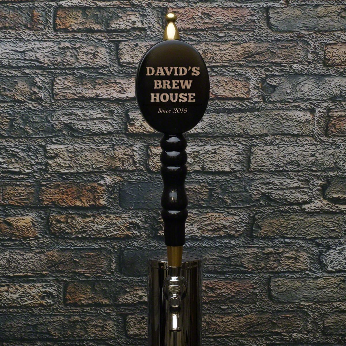 Personalized Gather Round Beer Tap Handle