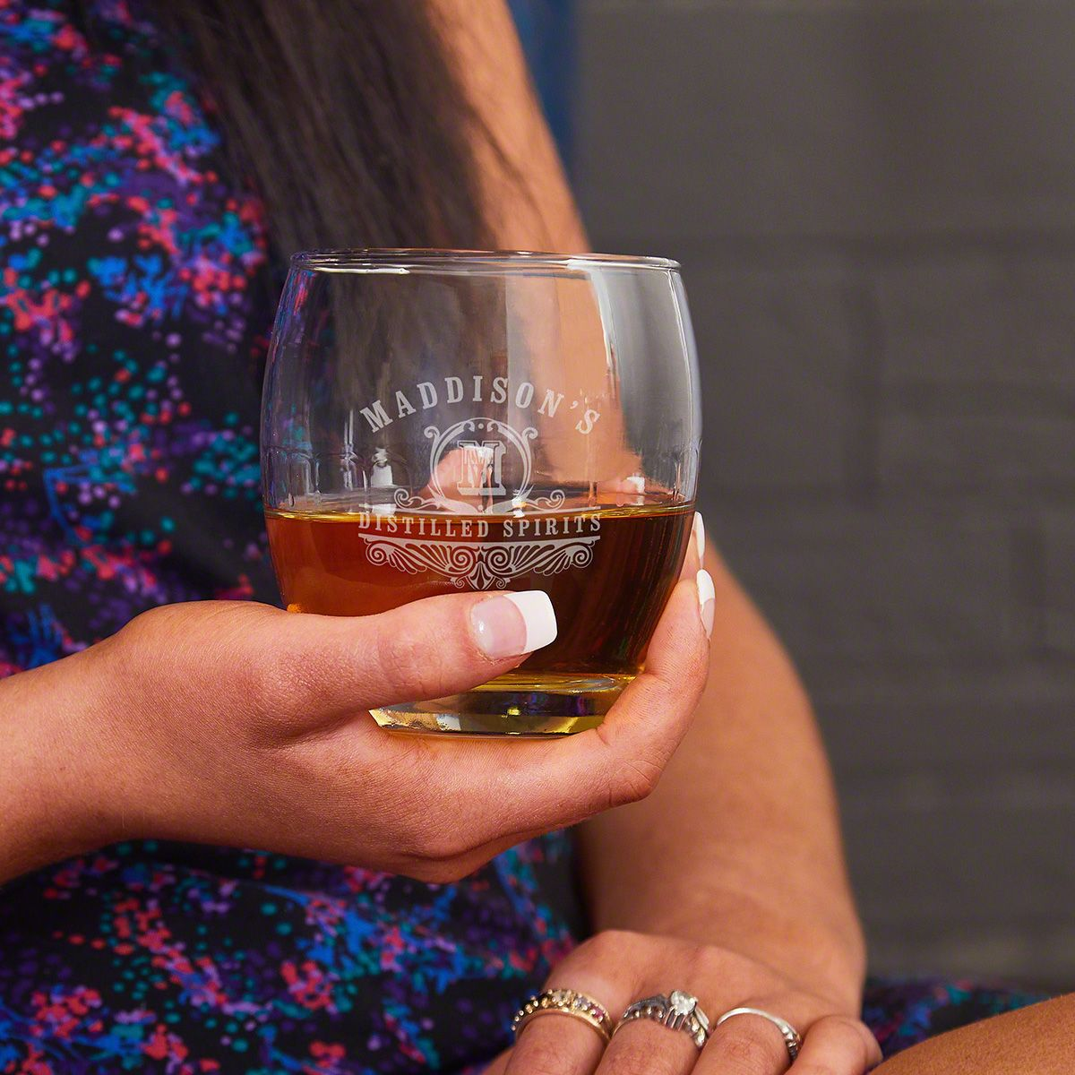Low Ball Whiskey Glass
