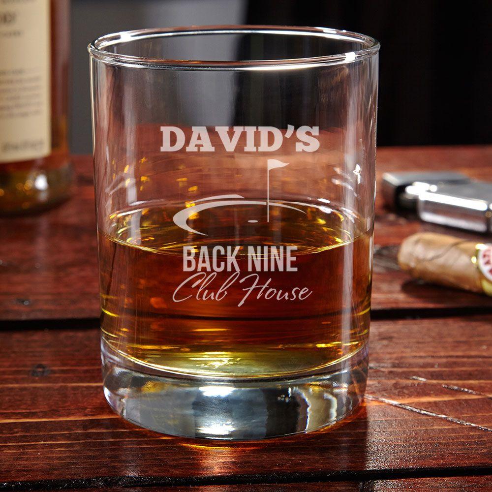 Back Nine Club House Rocks Glass