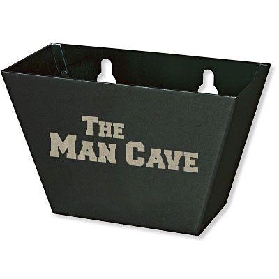 Man Cave Bottle Cap Catcher