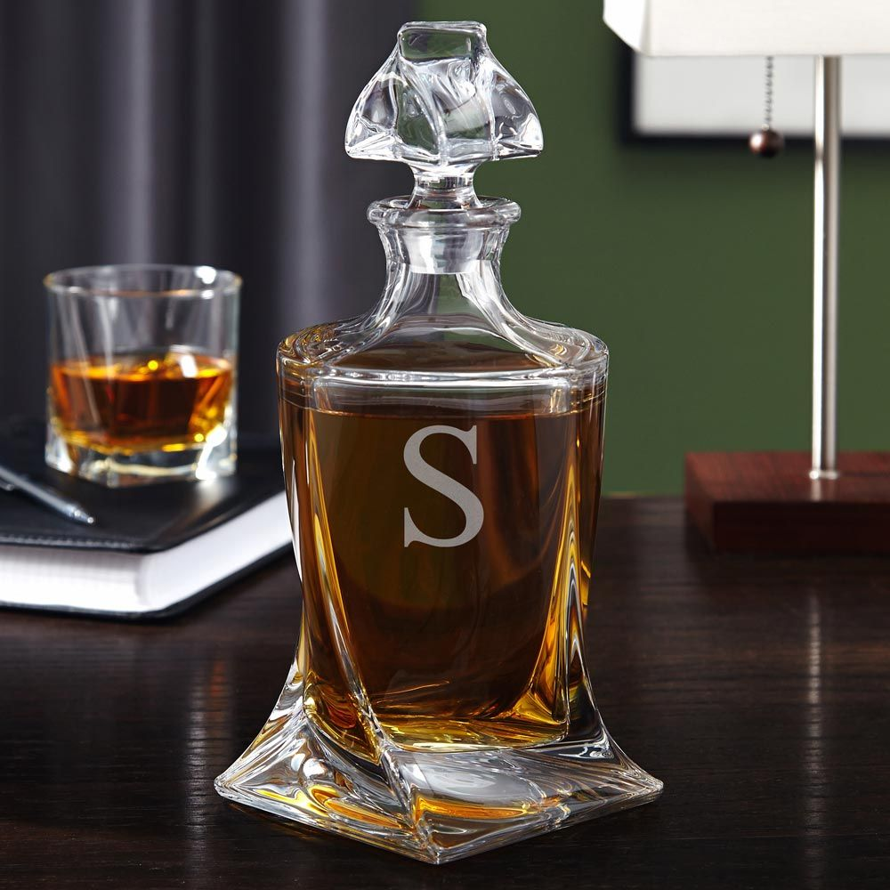Versailles Crystal Decanter, Engraveable