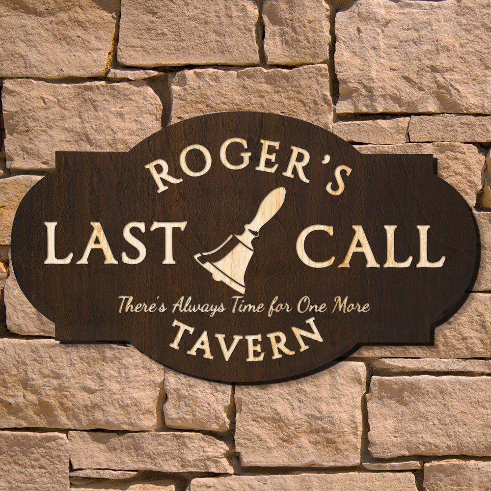 Last Call Custom Pub Sign (Signature Series)