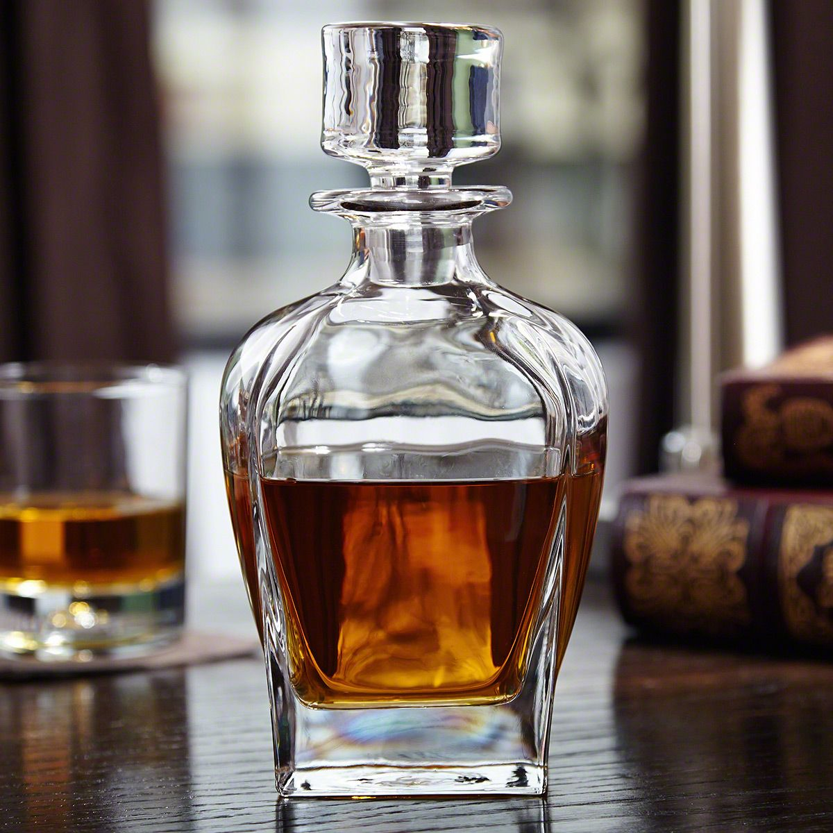 Draper Glass Liquor Decanter