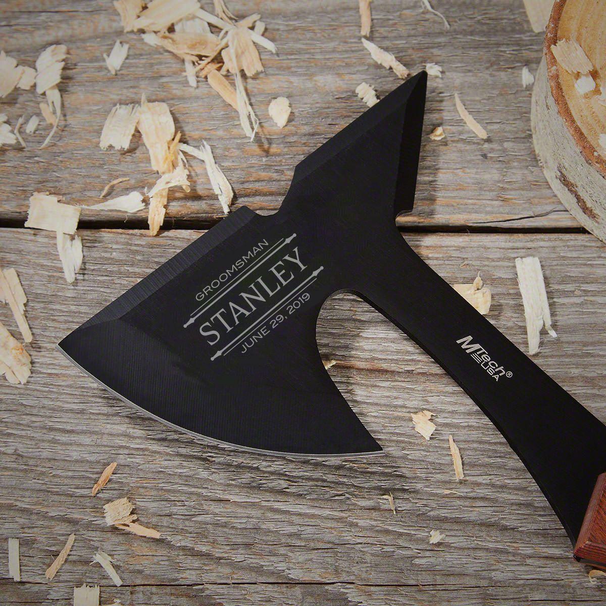 Stanford Custom Engraved Tactical Hatchet Groomsmen Gift