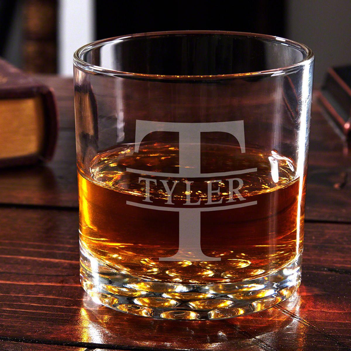 Oakmont Buckman Personalized Whiskey Glass