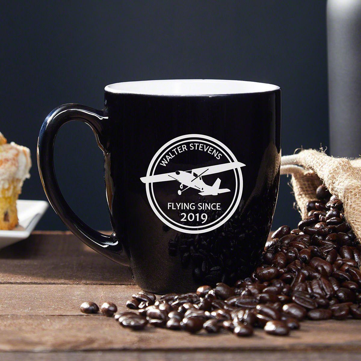 Aviator Personalized Coffee Mug - Gift for Pilots