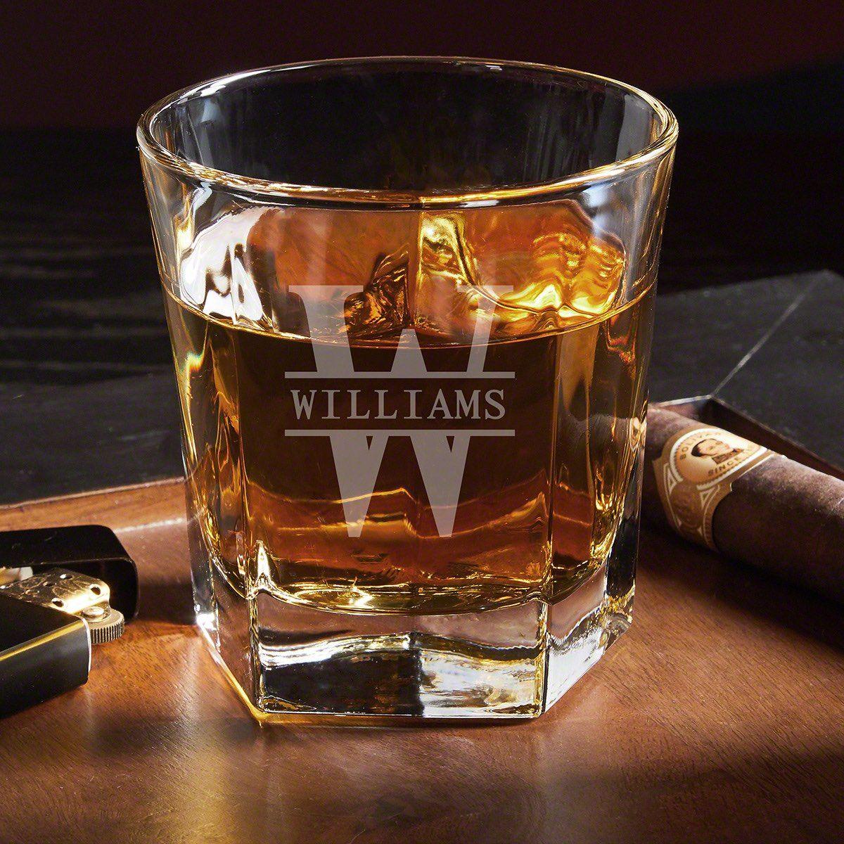 Oakmont Personalized Whiskey Glass