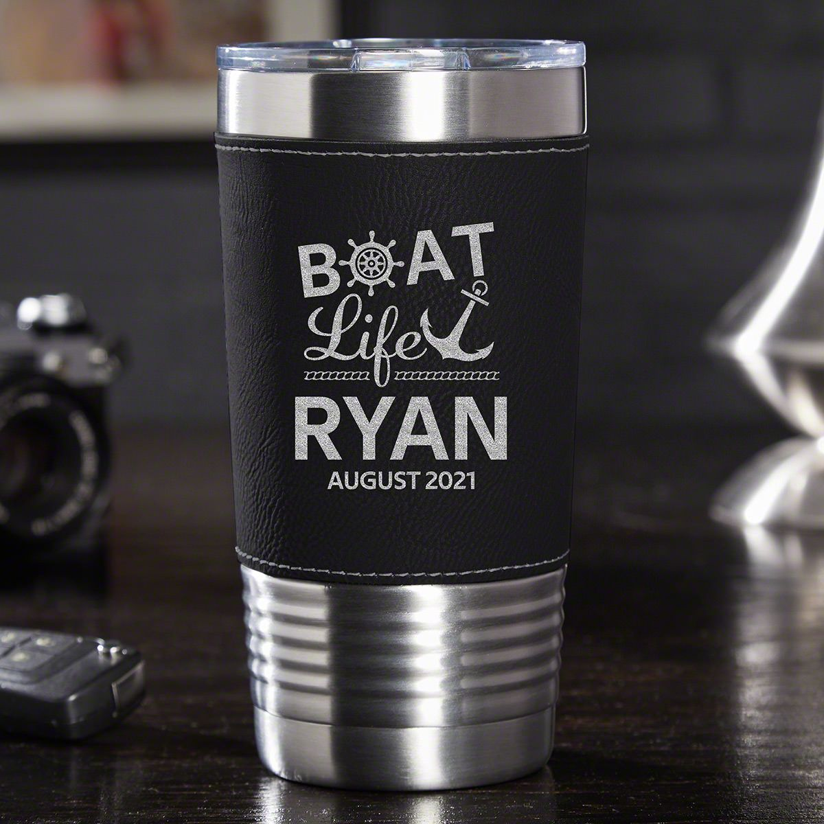 Boat Life is the Best Life Personalized Travel Tumbler