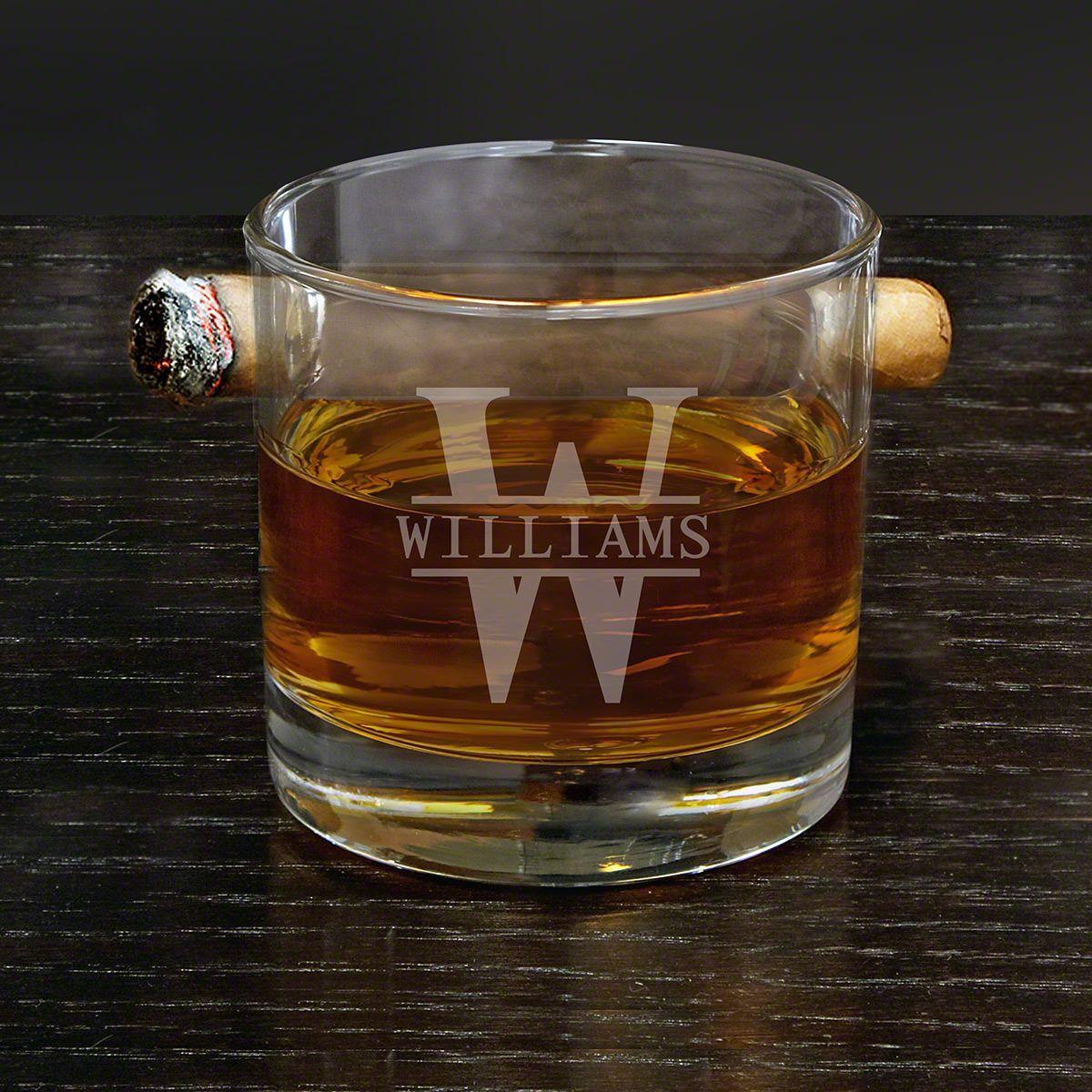 Oakmont Custom Round Cigar Glass