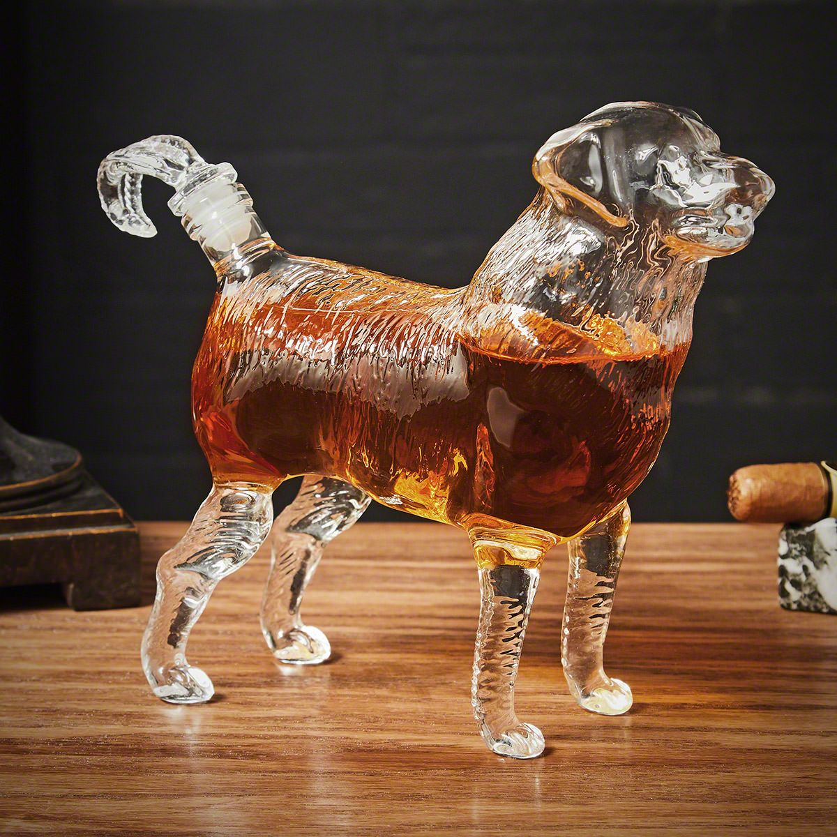 Dog Liquor Decanter