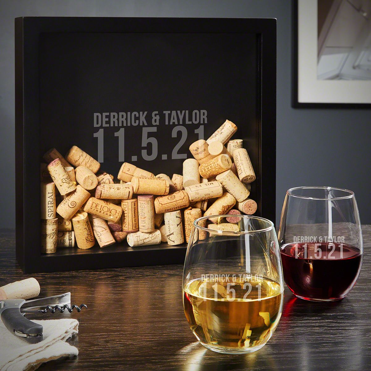 Better Together Personalized Wine Gifts for Couples