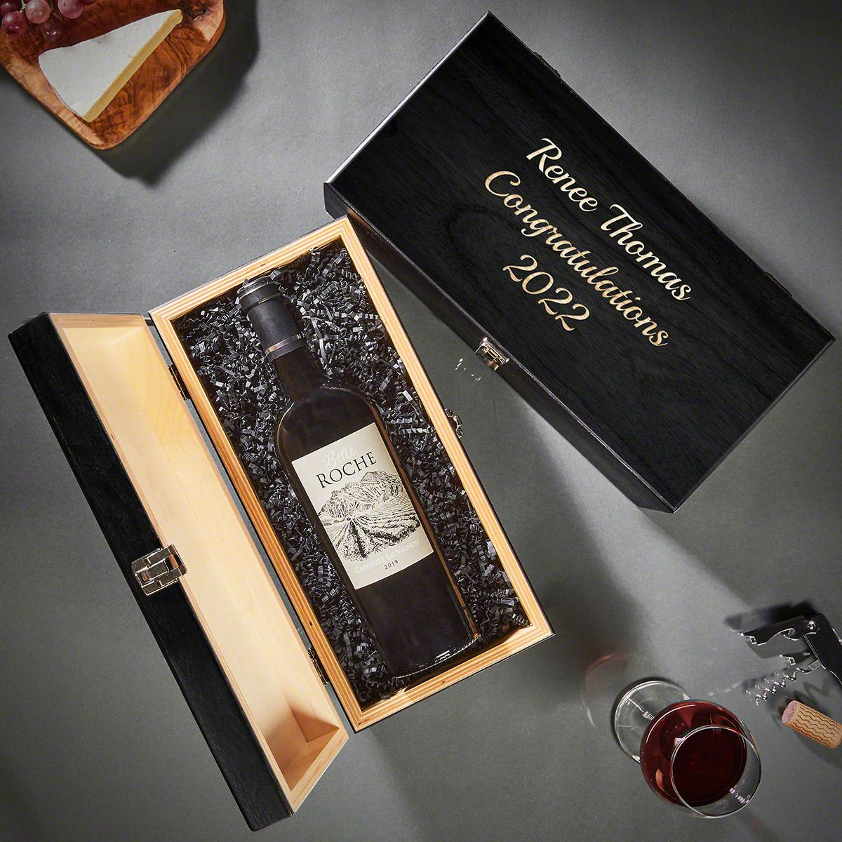 Custom Baltic Birch Wine Gift Box