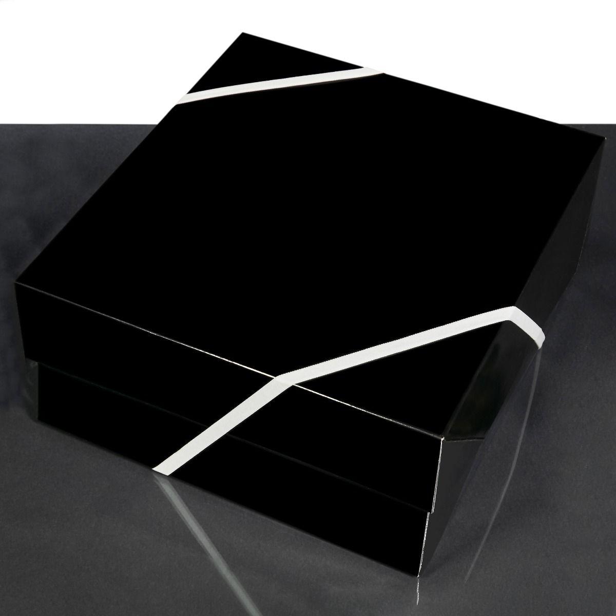 Large Glossy Black Gift Box Add-On
