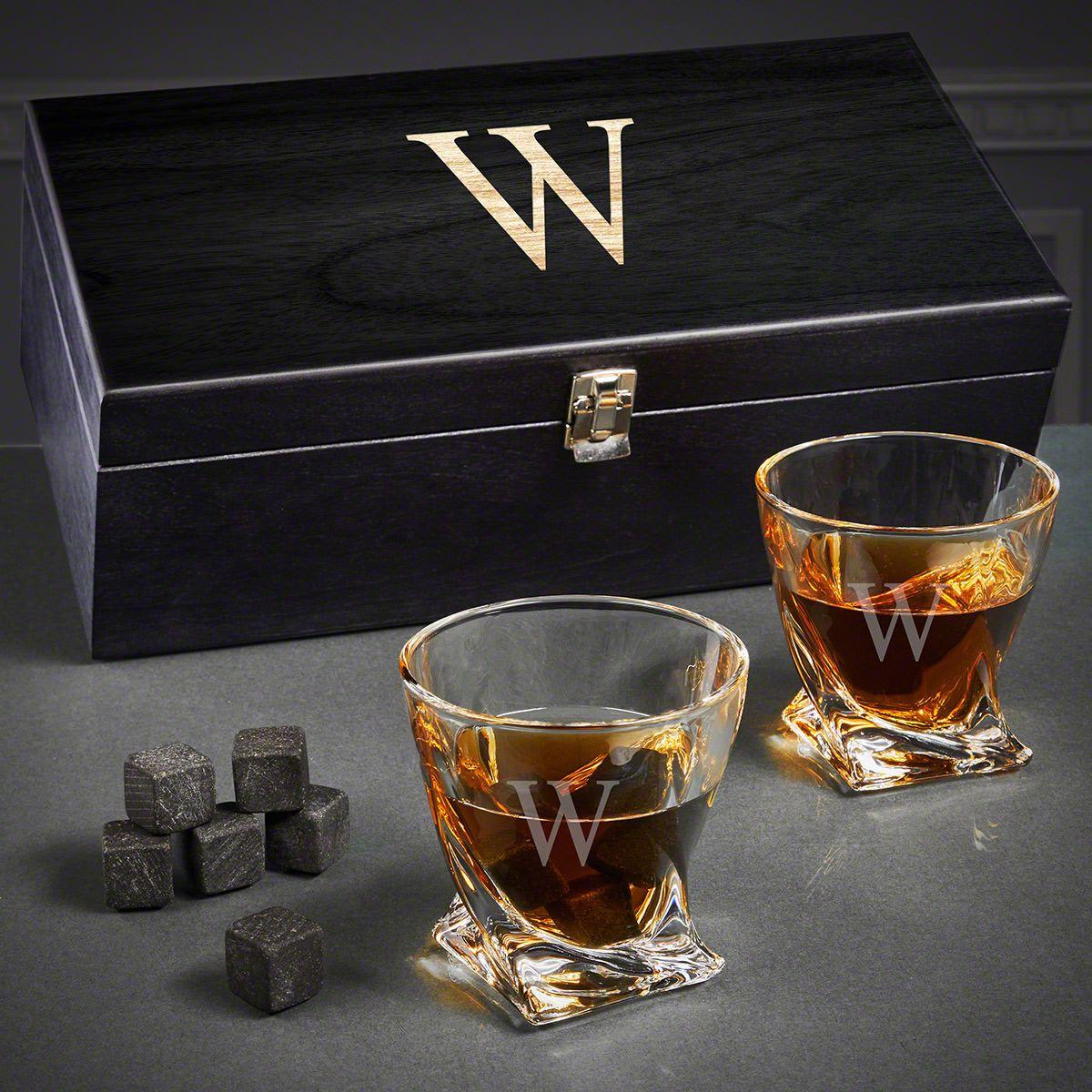 Custom Twist Whiskey Gift Basket