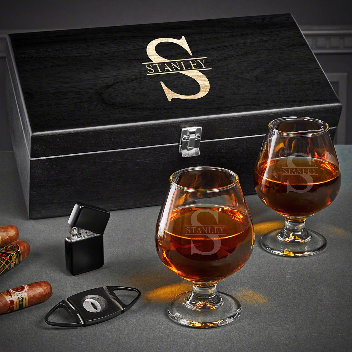 Oakmont Custom Cognac Glasses Set