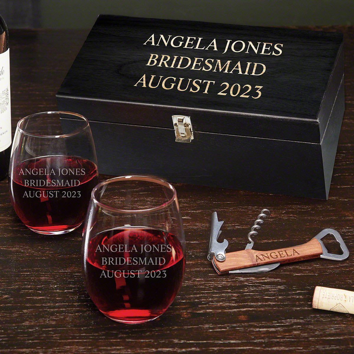 Custom Wine Gift Set