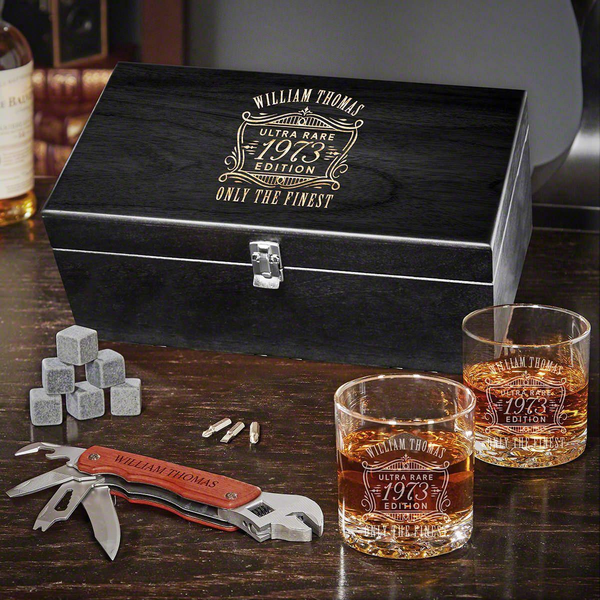 Ultra Rare Edition Custom Multi Tool Whiskey Box Set